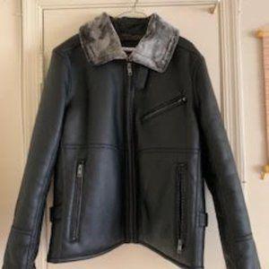 Marc NY Lenox Faux Leather Jacket